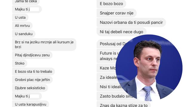 Božo Petrov objavio prijetnje koje je dobio: 'Jama te čeka, zovi Orbana da ti posudi pancir'