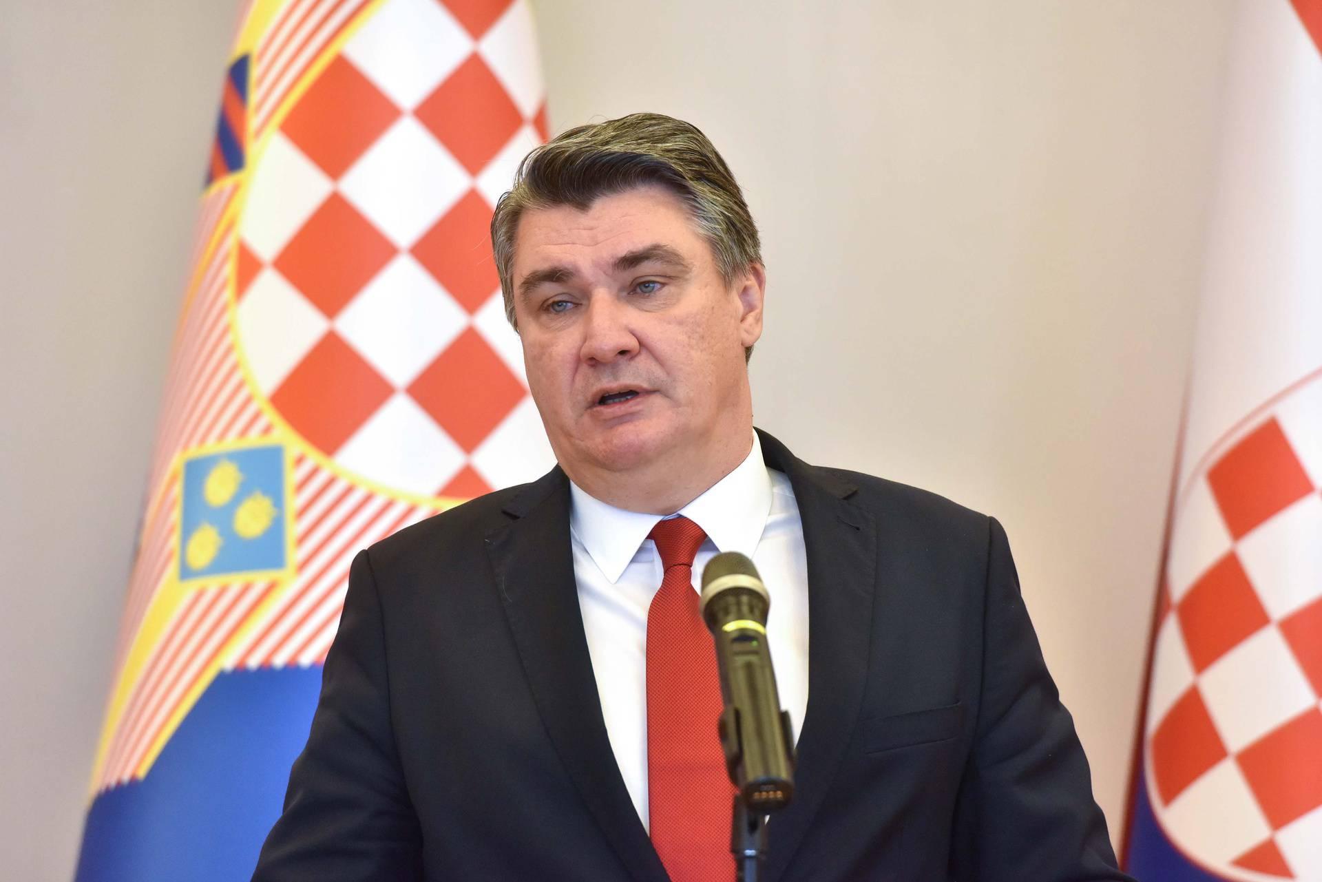 Predsjednik Milanović ugostio izaslanstvo iz Varaždina