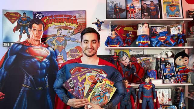 Najvjerniji fan: Marco kod kuće ima 1518 Superman suvenira