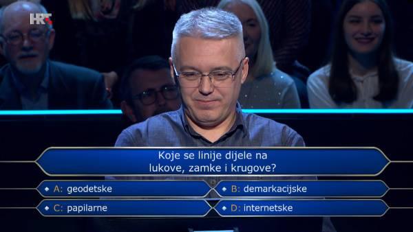 Ispucao sve džokere na jednom pitanju pa osvojio 1000 kuna