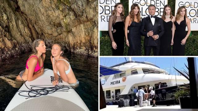 Rambove kćeri uživaju na našoj obali: 'Hrvatska, prekrasna si'