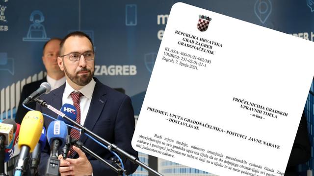 Tomašević privremeno stopirao  javnu nabavu u Gradu Zagrebu