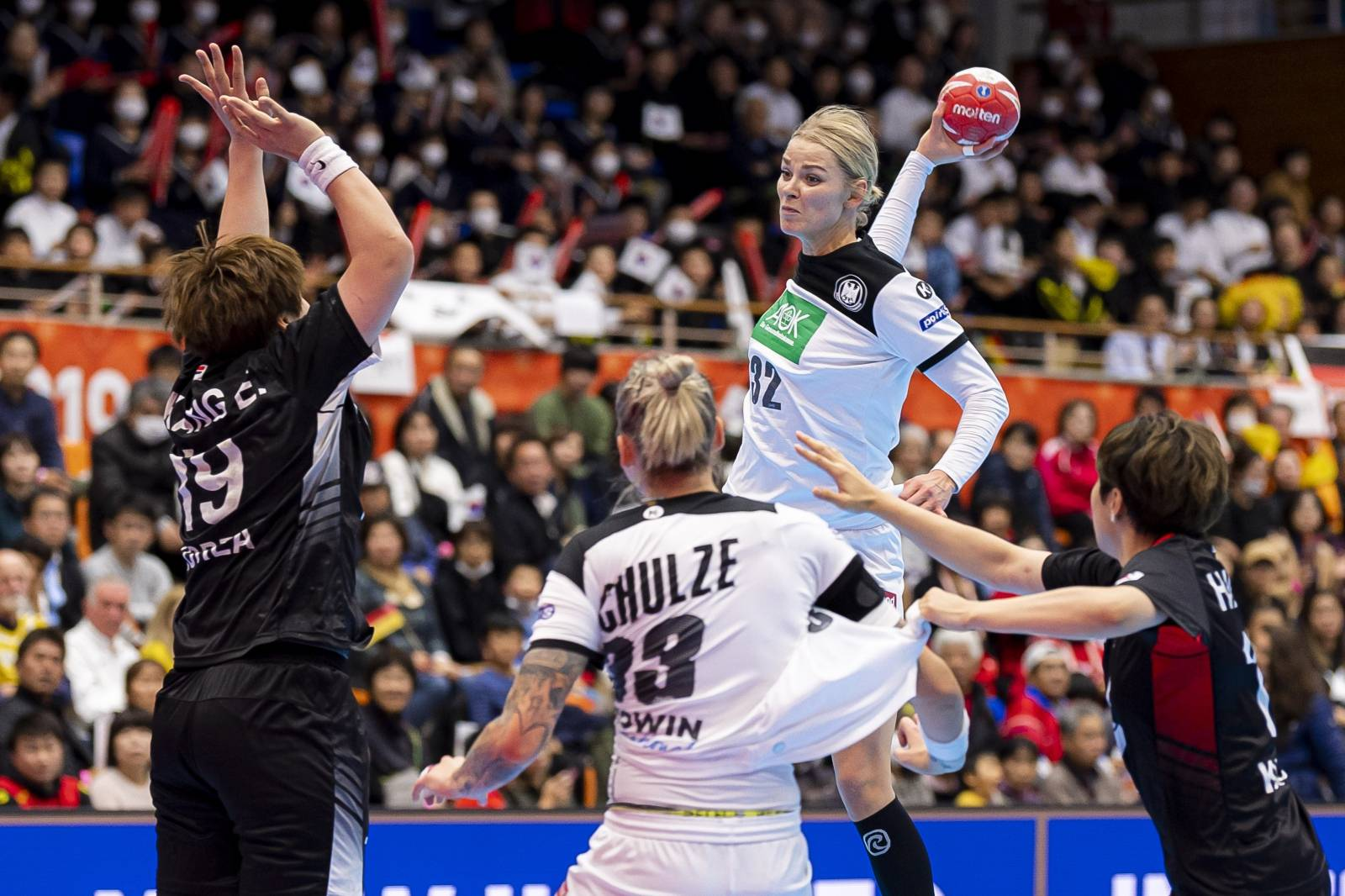 Handball Women WM Germany - South Korea