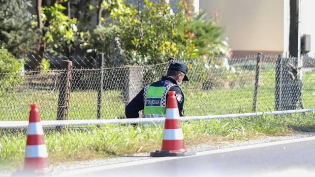 Zagreb: Očevid na mjestu prometne nesreće u Ježdovečkoj ulici