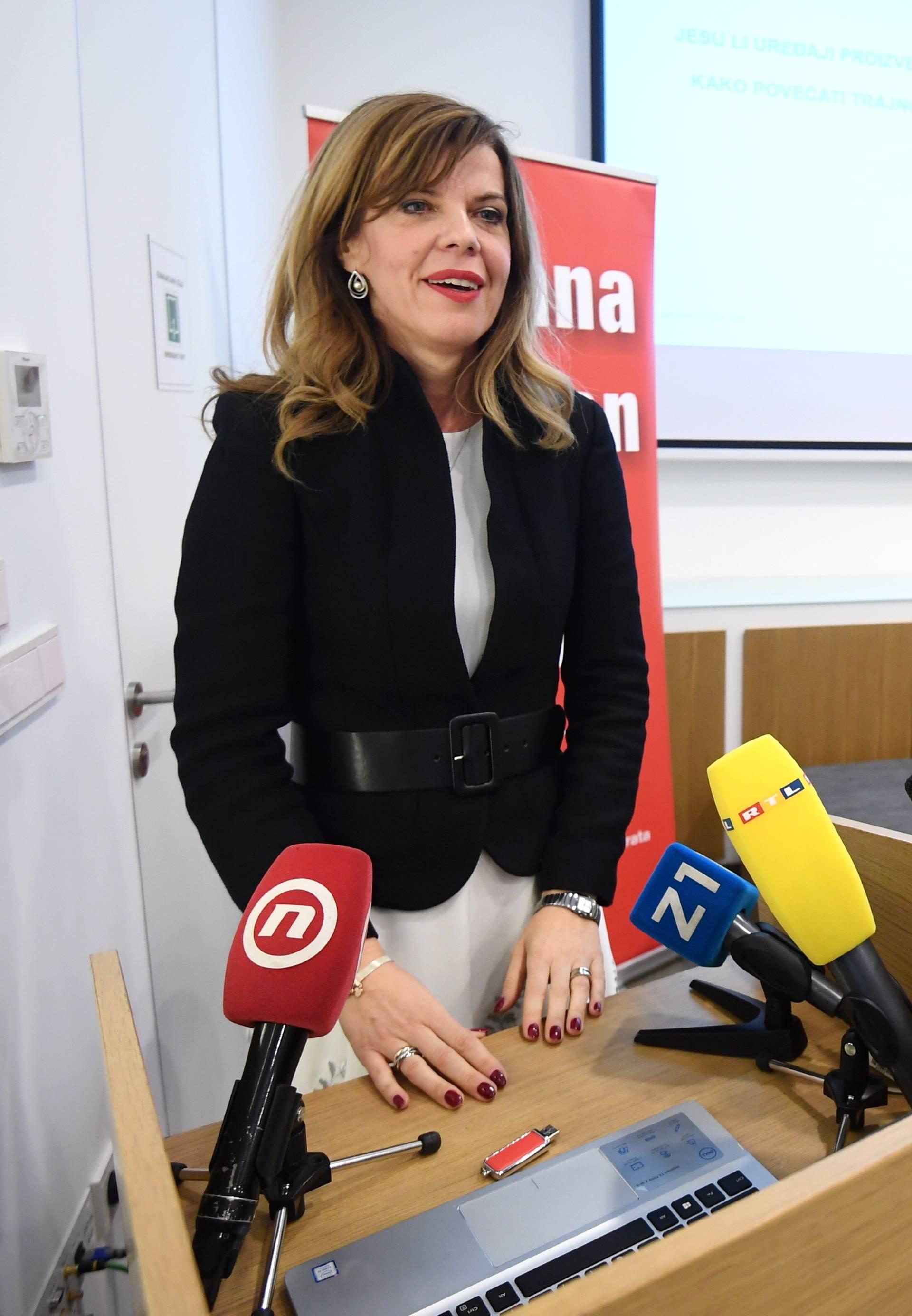 Zagreb: Boljana Borzan na konferenciji govorila o preranom kvarenju uređaja