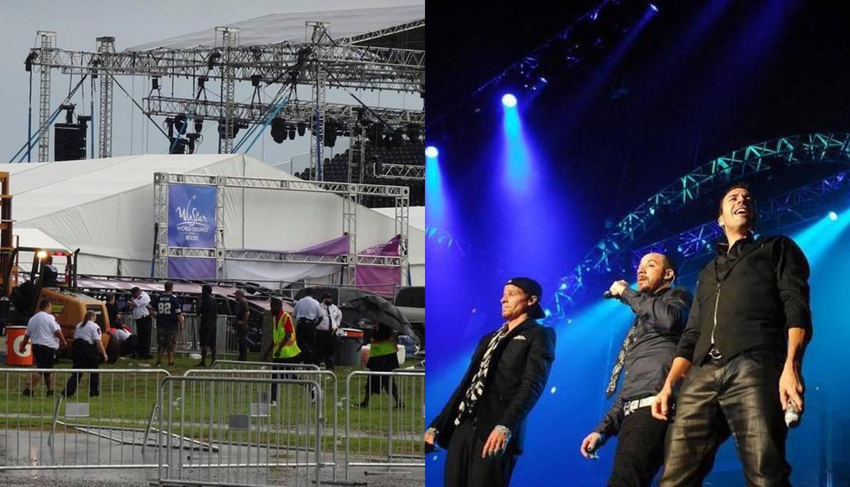 Četrnaest ljudi ozlijeđeno prije koncerta Backstreet Boysa