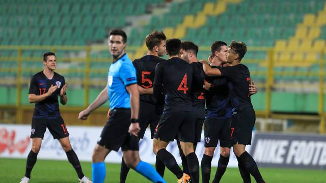 Pula: Kvalifikacijska utakmica za U21 Europsko prvenstvo, Hrvatska - Litva