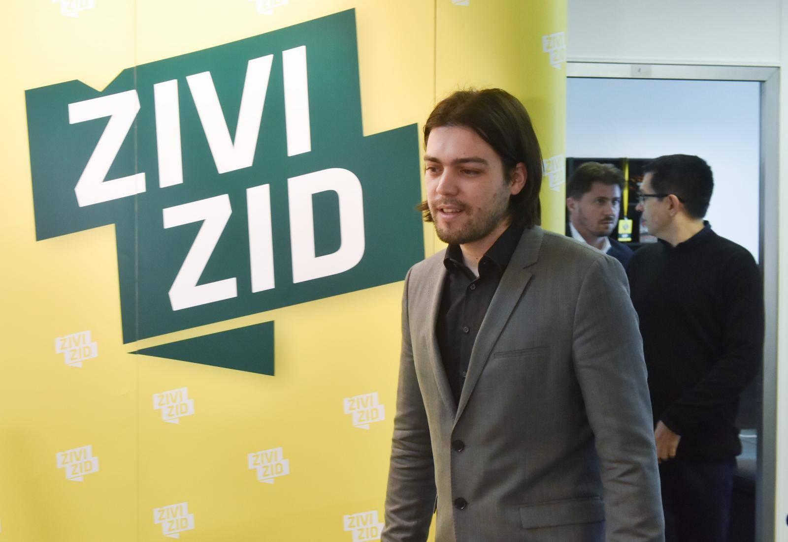 Zagreb: Živi zid održao konferenciju za medije u uhićenjima čelnih ljudi Uljanika