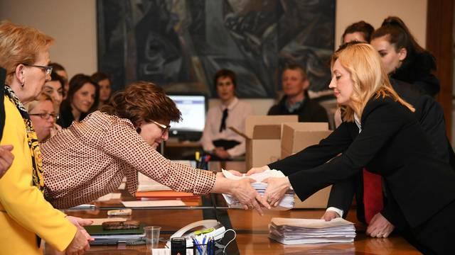 Marijana Petir predala je listu DIP-u: Skupila je 5000 potpisa