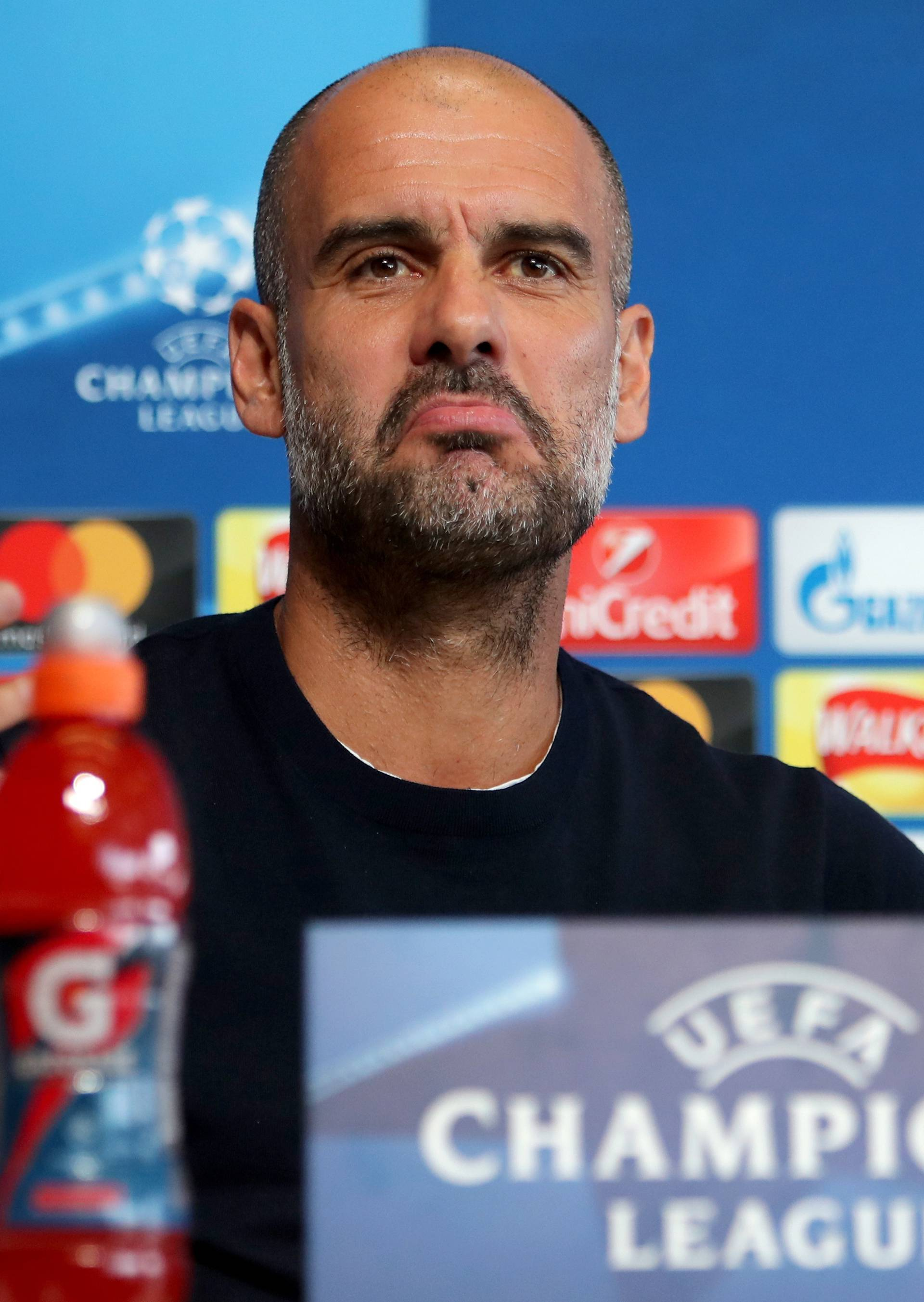 Manchester City Training Session and Press Conference - CFA