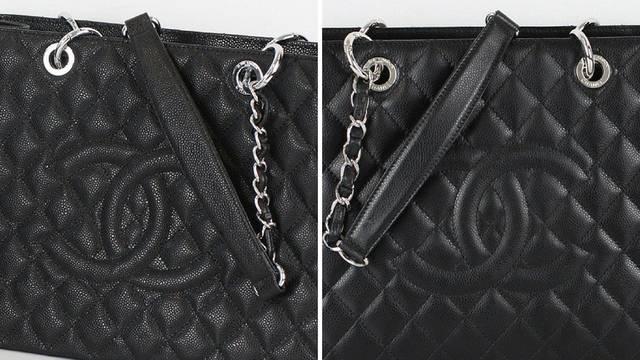 Ove dvije torbice izgledaju isto, ali detalji razotkrivaju 'lažnjak'
