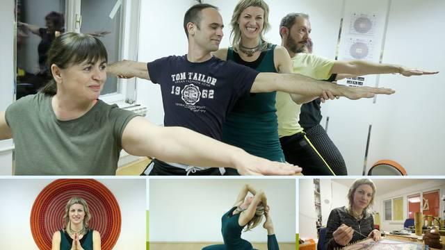 Iva čuje samo 15 posto, a vodi radionice i satove joge za gluhe