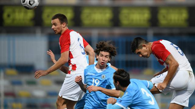 Zagreb: U 21 kvalifikacije za EP, Hrvatska - San Marino