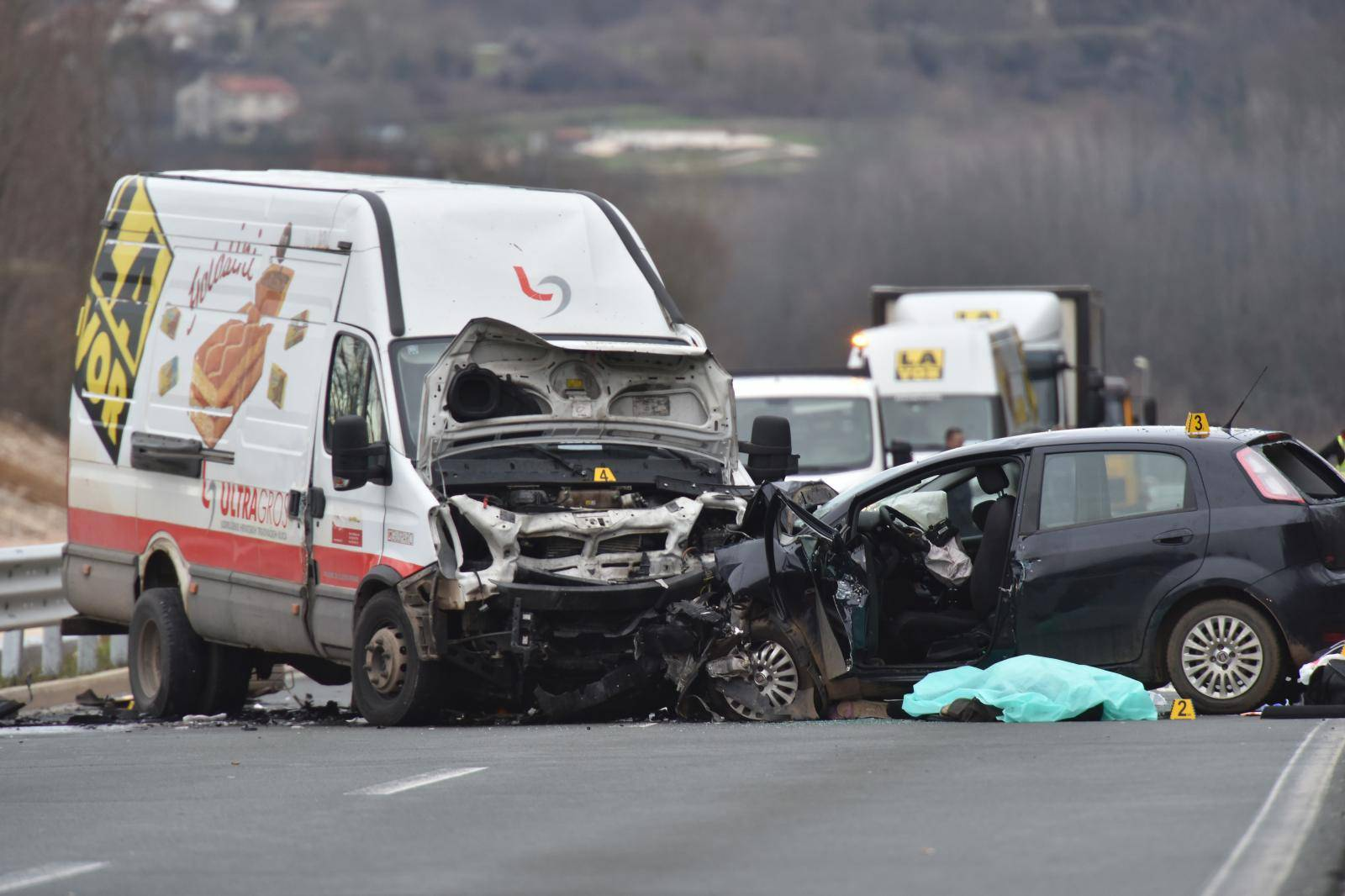 Pazin: U prometnoj nesreći na istarskom ipsilonu poginula jedna osoba