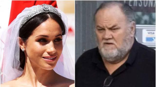 'Meghan kaže da su joj mediji maltretirali oca, a ni ne pričaju'