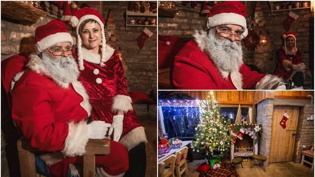 Djedica iz Čepina: U kućici, kraj kamina božićna čarolija postaje stvarnost, a pomažu i vilenjaci