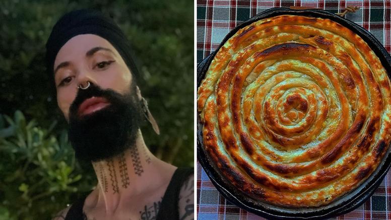 Božo Vrećo razvija kore za pitu u videu na Instagramu: 'Za sve si talentiran! Doviđenja dijetama'