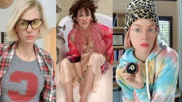 Tek su joj 43: January Jones ima super zabavan i eklektičan stil