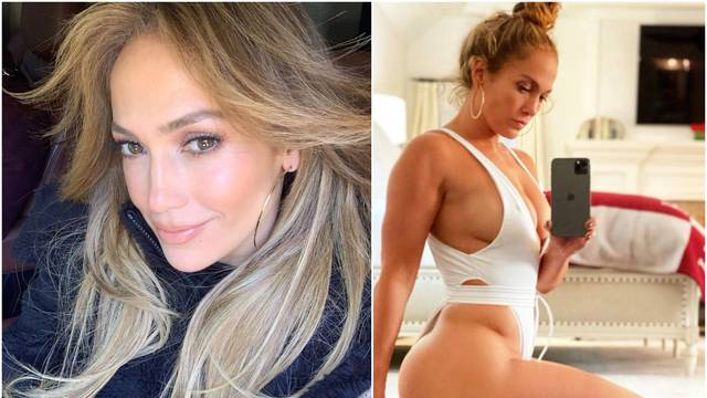 J.Lo 'zapalila' Instagram: U mini bodiju izbacila pozadinu i grudi