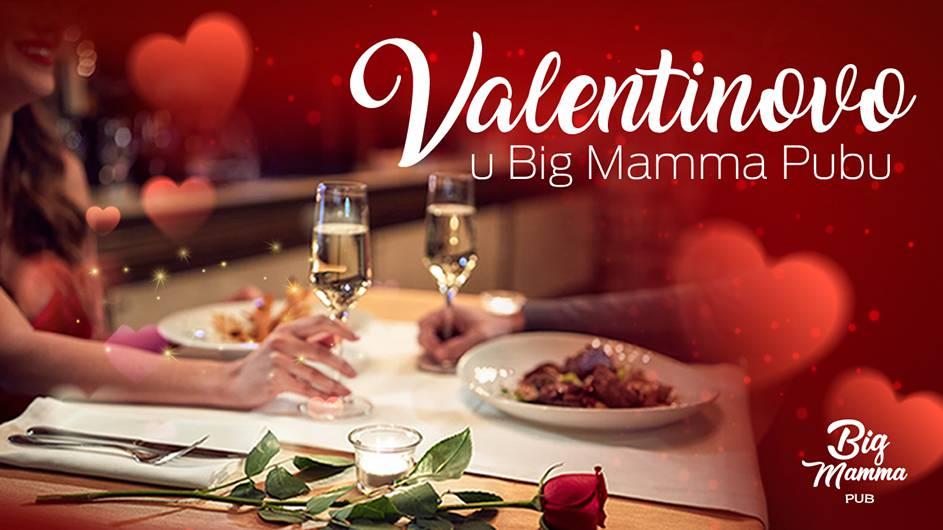 Ovog Valentinova romantika je u Big Mamma Pubu