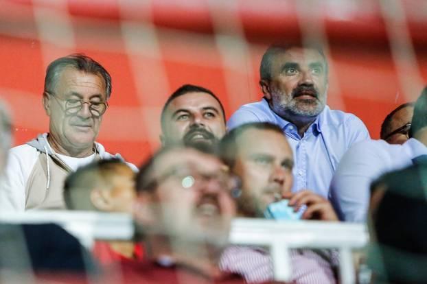 Mostar: Braća Mamić na nogometnom derbiju FK Velež - FK Sarajevo