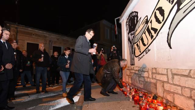 Svijećama i mimohodom kroz Pulu odali počast Vukovaru