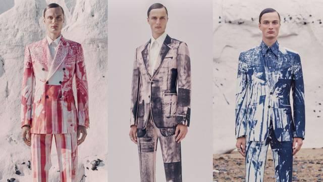 A. McQueen odijela inspirirana akvarelom i apstraktnim stilom