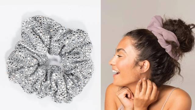 Šlampave kućne frizure kao stvorene su za tzv. 'scrunchie'