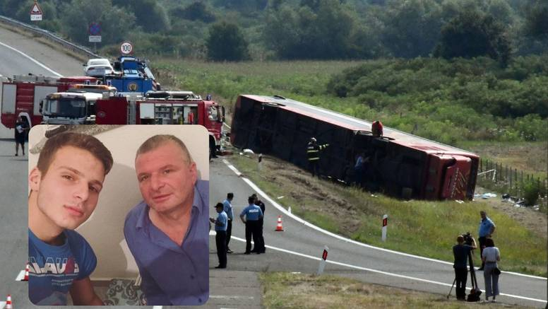 Sin poginulog vozača autobusa: 'Dobro da sam te zagrlio kad si krenuo na put, nedostajat ćeš...'