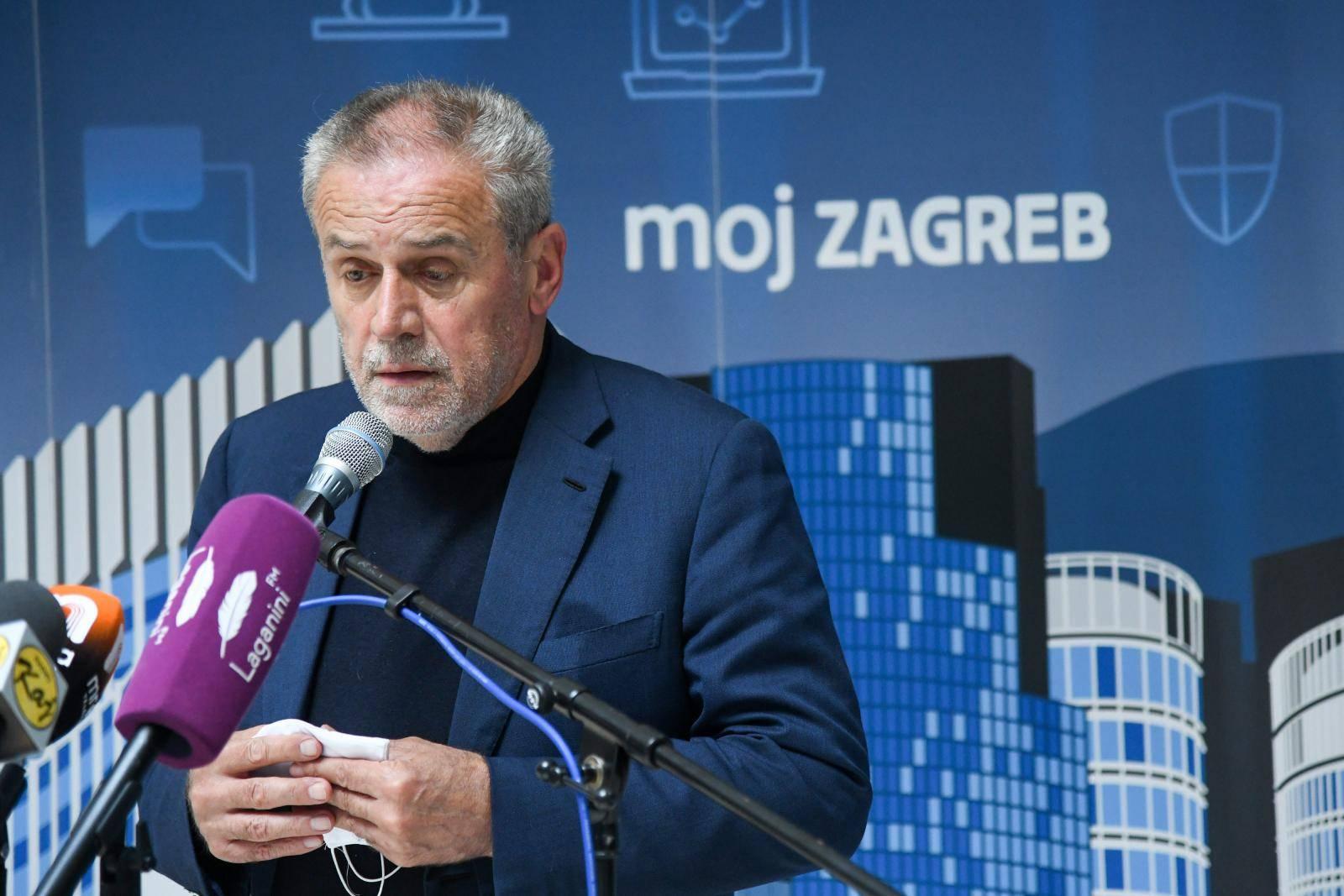 Zagreb: Konferencija za medije Akti gradonačelnika