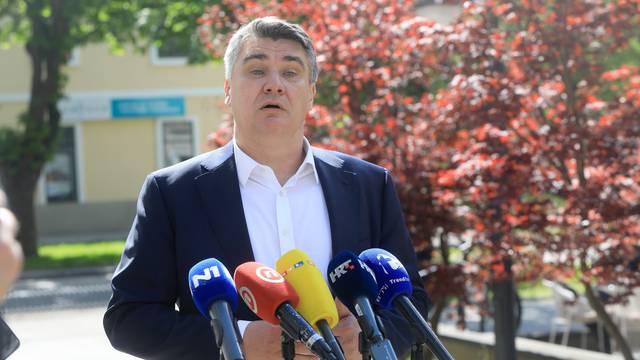 Ogulin: Predsjednik Milanović ponovno udario po premijeru Plenkoviću