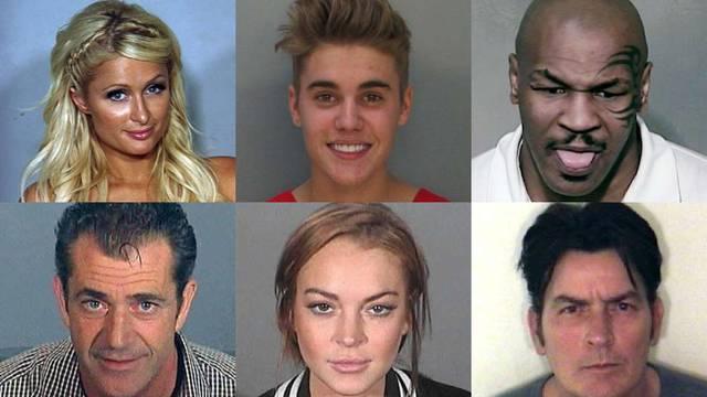 Fotke iz policije: Mike Tyson je isplazio jezik, Justin se smije