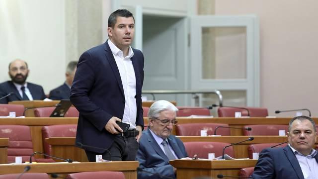Zagreb: Sabor nastavio sjednicu raspravom o policijskim poslovima i ovlastima