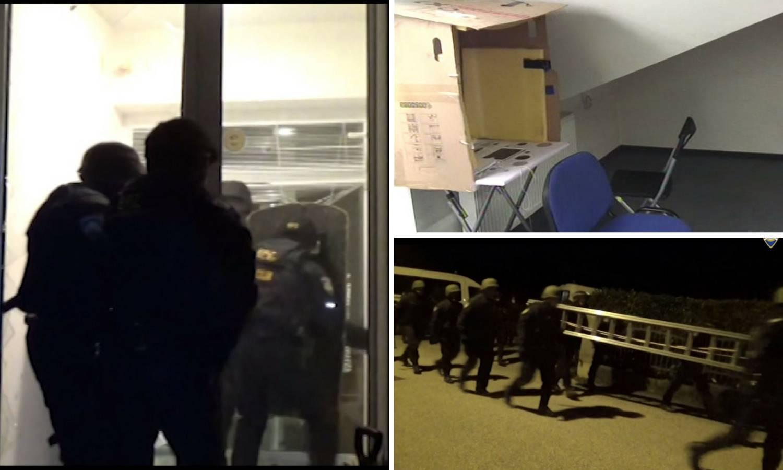 Detalji velike akcije: Pogledajte video policijske racije u vilama