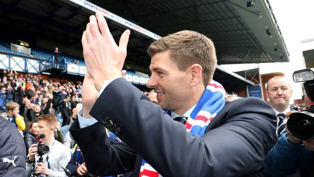 Rangers - Steven Gerrard Press Conference