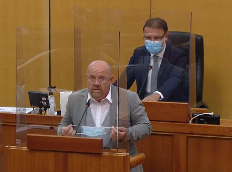 Svađali se Drele i Jandroković: 'Hodajte vi bez maske, danas imate preko 1100 zaraženih...'