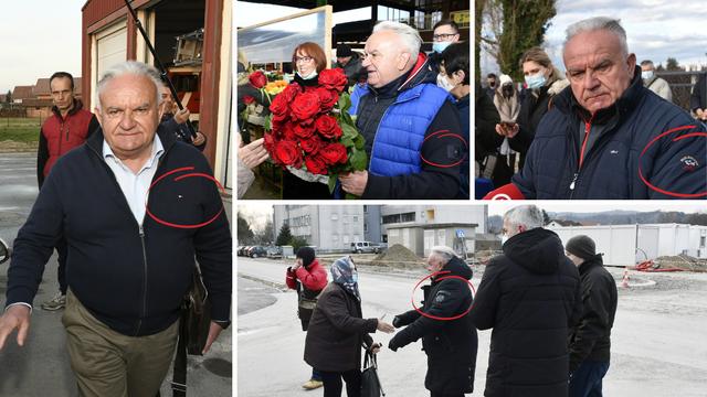 FOTO Gradonačelnik razrušene Petrinje non stop hoda u skupim jaknama, prslucima, vestama...