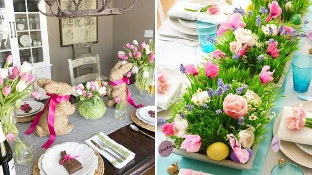 Kako urediti stol za Uskrs: Sve će biti ljepše uz šarene detalje