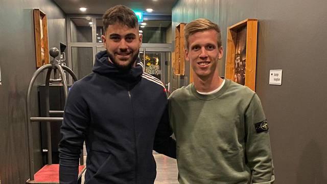 Gvardiola dočekale i zvijezde Leipziga -  Olmo i Upamecano...