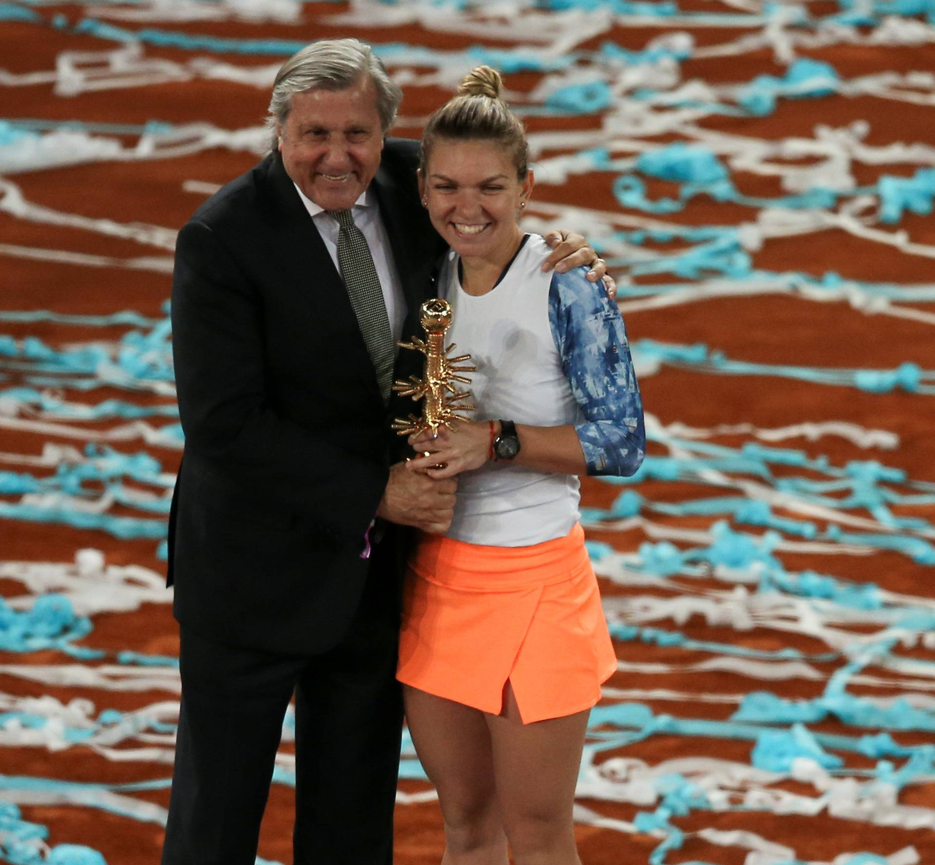 Tennis - WTA - Madrid Open - Women's Singles Final