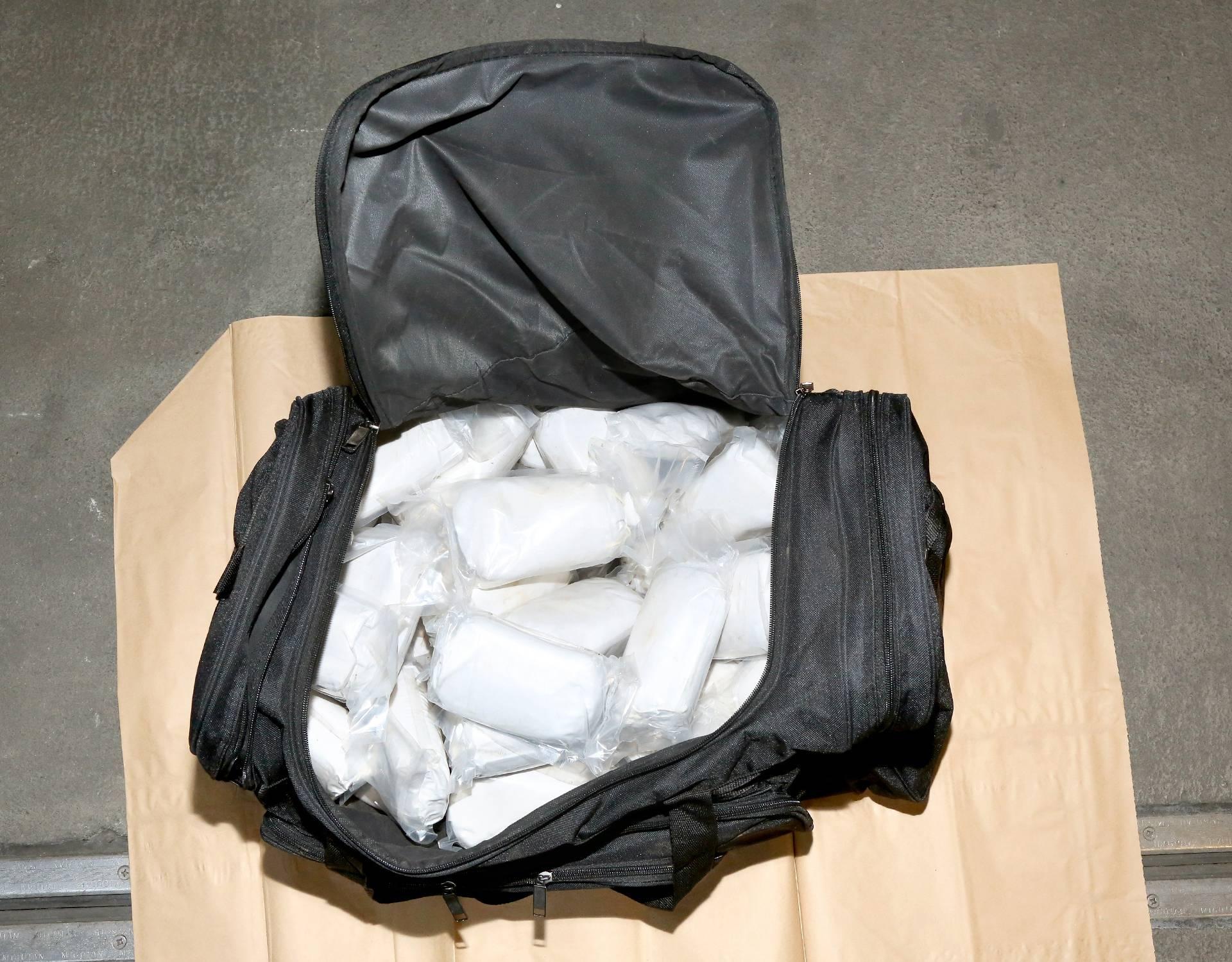 80 kilograms of heoin found with smuggler gang