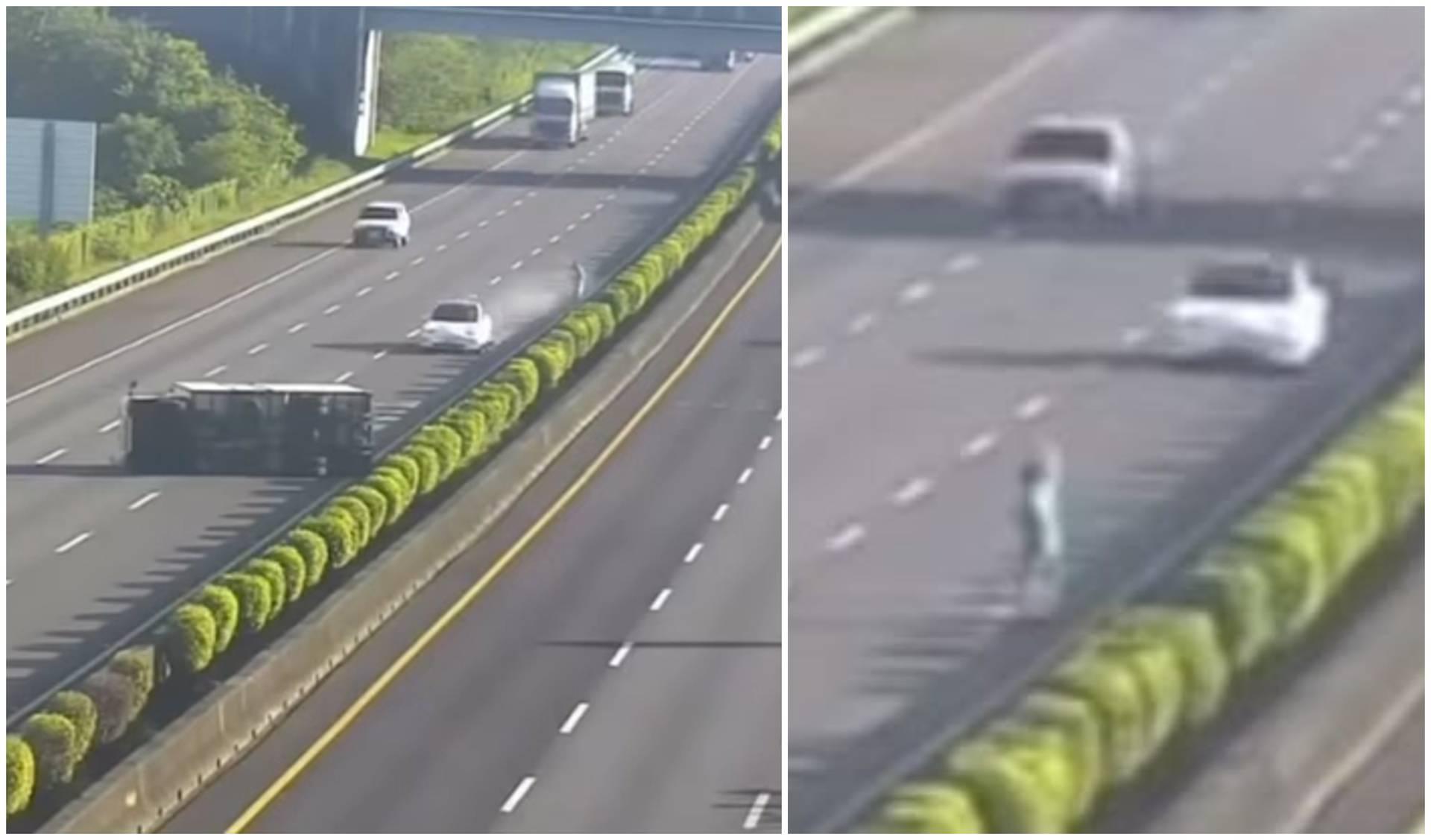 Ma kako ga nije vidio?! Vozač se zabio u kamion prevrnut na cesti, zakazao Teslin autopilot?