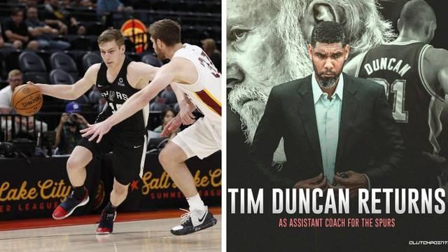 Šamanić će učiti od velikana: Tim Duncan se vratio u Spurse
