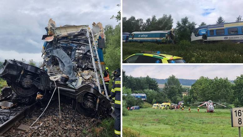 Teška nesreća u Češkoj: Sudarila se dva vlaka, dvoje ljudi umrlo, a više desetaka ih je ozlijeđeno