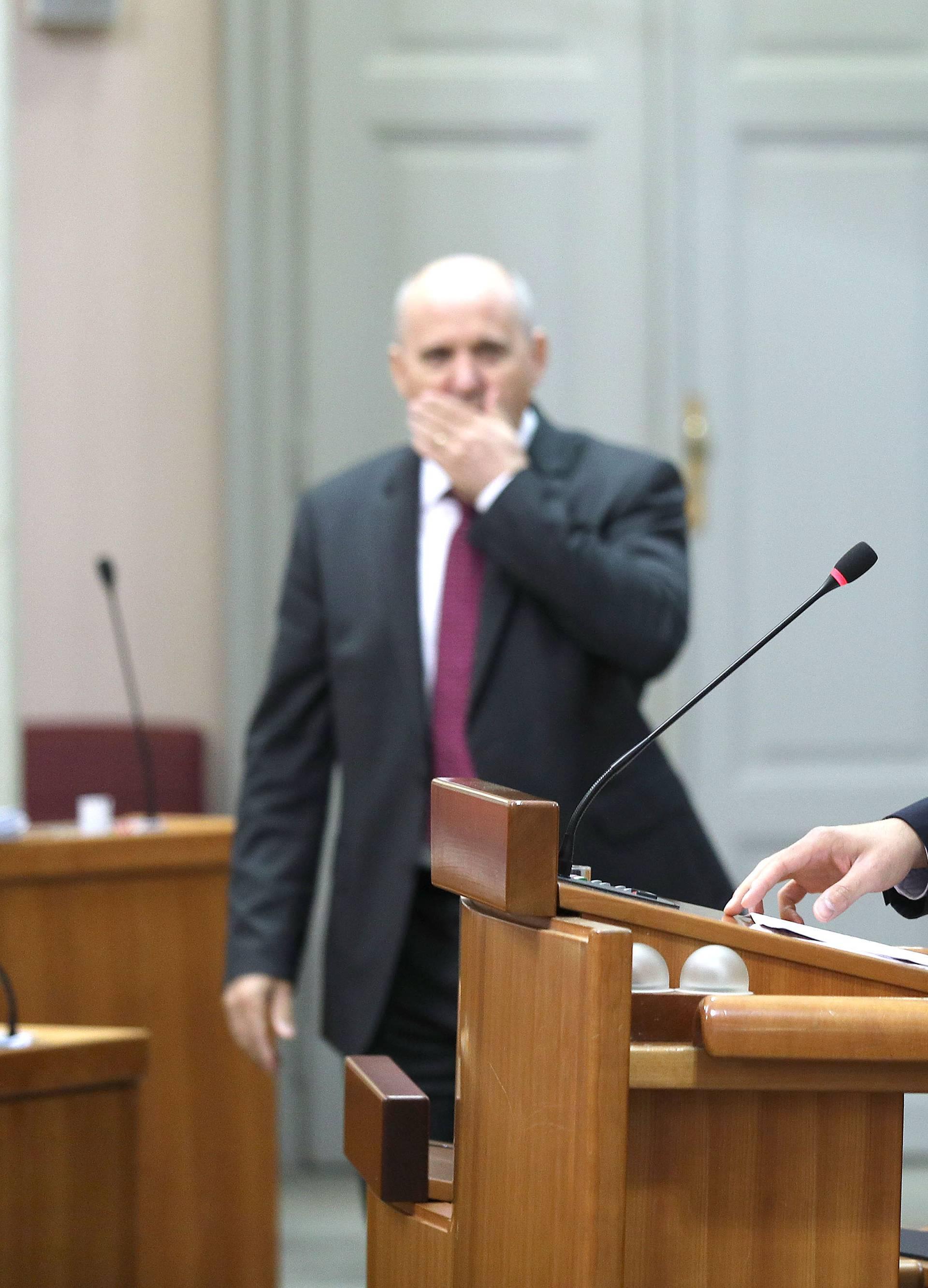 Zagreb: Sjednica Sabora nastavljena raspravom o prostornom uređenju i gradnji