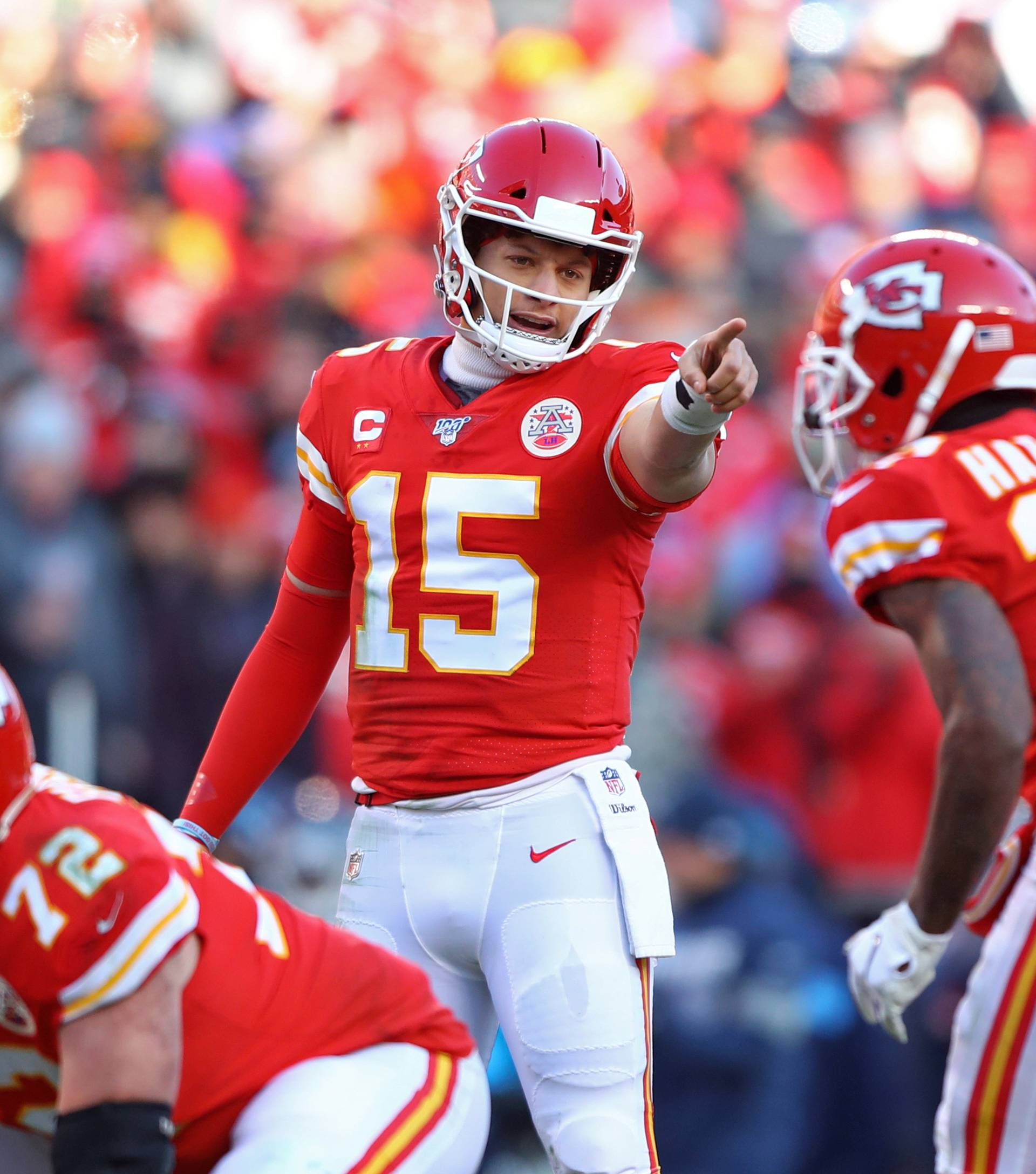FILE PHOTO: NFL: AFC Championship-Tennessee Titans at Kansas City Chiefs