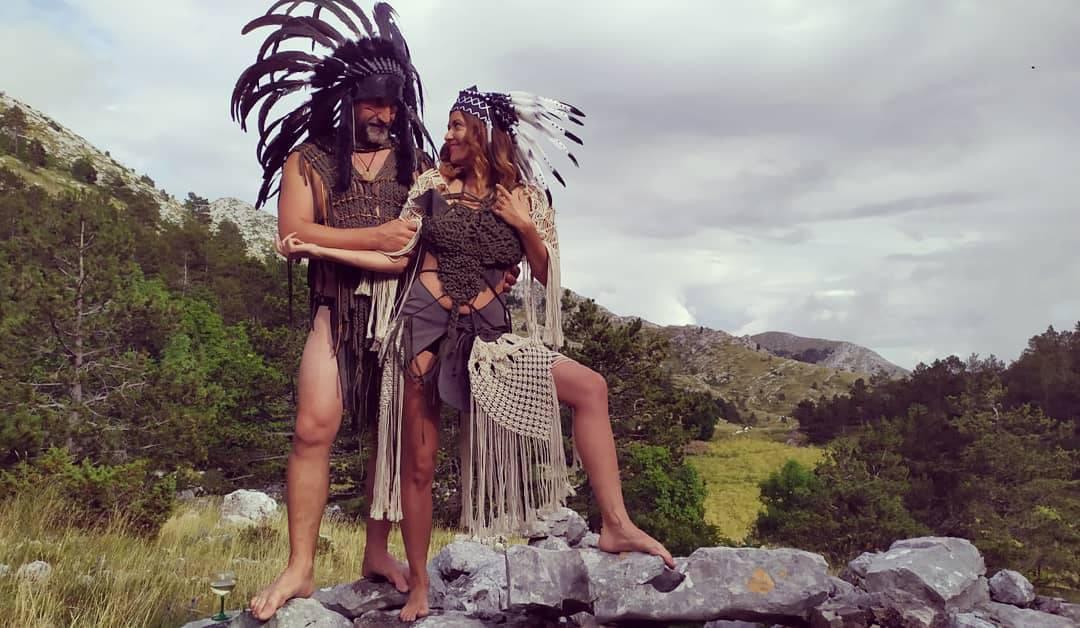 Novi brak: Rupčić u indijanskoj perjanici oženio je dizajnericu...