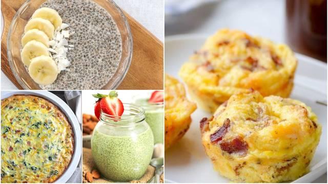 7 ideja za brzi i jednostavni doručak za sve koji ga preskaču