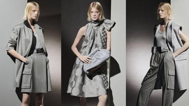 Demonstracija sivog kolorita u modnoj režiji brenda Max Mara