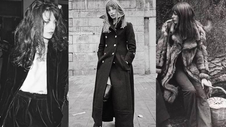 Omiljeni zimski komadi Jane Birkin: Navy kaput, odijela od baršuna i casual vunene veste